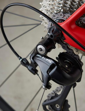 Shimano 105 is similar to Ultegra and BMC specs a wide-ranging 11-32 cassette