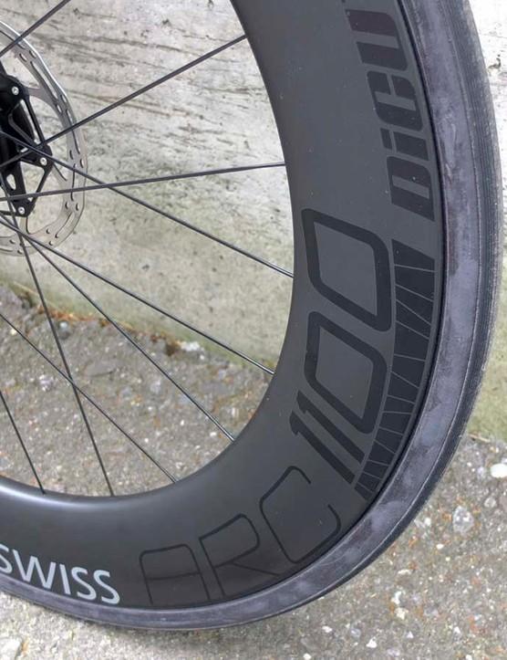 DT Swiss ARC 1100 Dicut disc wheels in 80mm depth