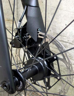Thru-axles ensure perfect disc brake alignment, especially for a bike that may be regularly rebuilt after travel
