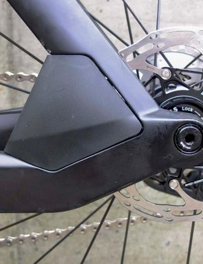 Unlike the Timemachine Road 01, the Timemachine 01 Disc also gains a rear disc brake caliper shield