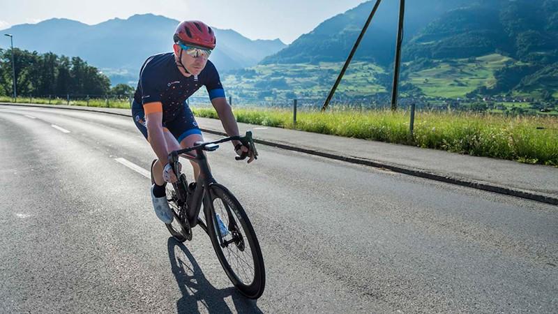 I spent 112 miles riding the new bike through Switzerland's impressive scenery