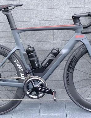 The new BMC Timemachine Road 01 ONE aero road bike