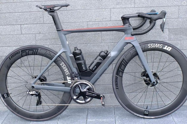 The new BMC Timemachine Road 01 ONE aero road bike
