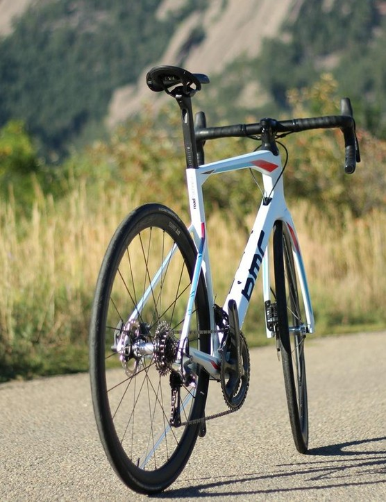 The Roadmachine does not look or perform like a traditional road bike