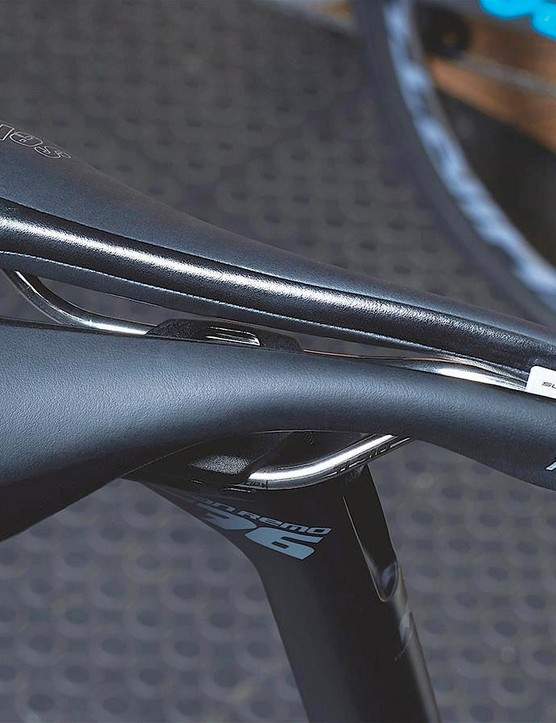 Saddles with cutouts are designed to alleviate soft tissue pressure and increase blood flow