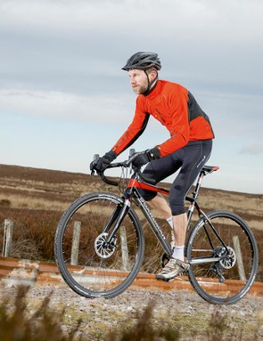 Schwalbe's Rapid Rob tyres provide good grip on and off road