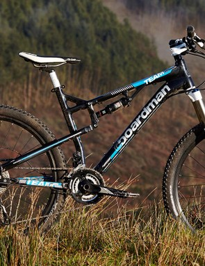 For 2016, Boardman FS Team has largely stuck with the tried and trusted formula that's made it a standard-bearer for budget full-suspension MTBs