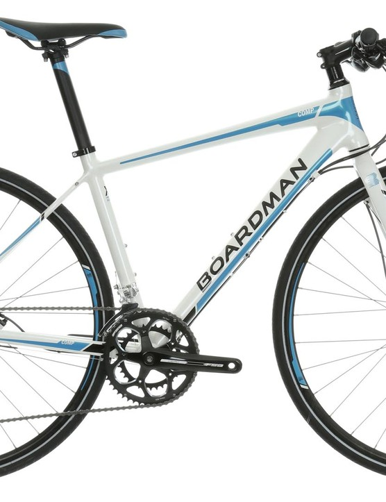 The Boardman Hybrid Comp women's-specific hybrid bike