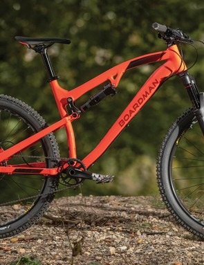 Boardman's new flagship MTB looks very different to the old FS