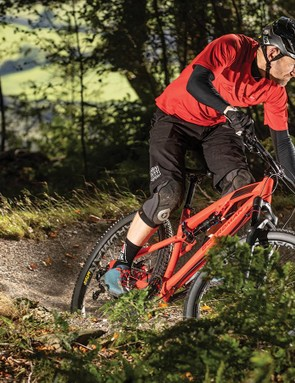 The Deluxe shock gets a lever to stiffen it up for climbing