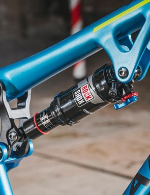 The Monarch RT shock gets a climbing switch along with the usual rebound adjustments