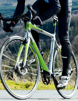 The silver bullet – Boardman's latest bikes look very different from earlier models