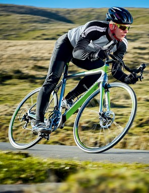 The Boardman's ride is firm but not uncomfortable, and it feels pleasingly brisk