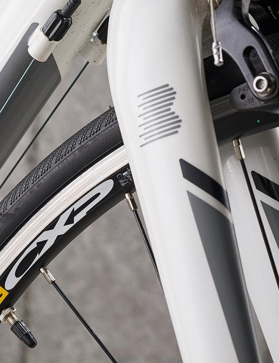 High-quality Mavic rims are a nice touch on a £500 bike