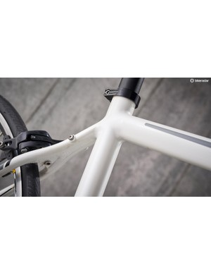 Boardman has delivered a clean looking frame with semi-smoothed welds