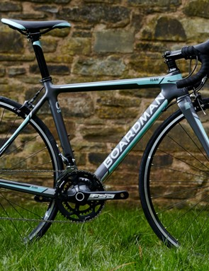 The Boardman Road Team Carbon women's specific road bike, available from Halfords