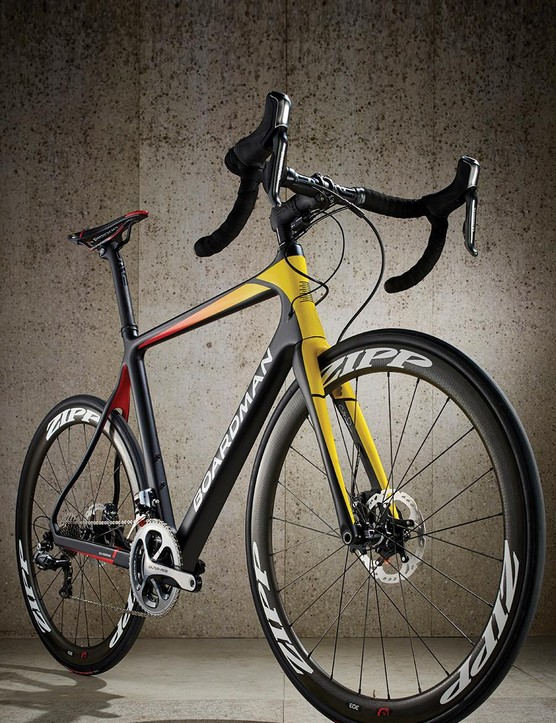 Boardman has set about showcasing its capable frames with a selection of the best components