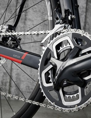 FSA Gossamer chainset joins Shimano 105 cassette and Ultegra mechs