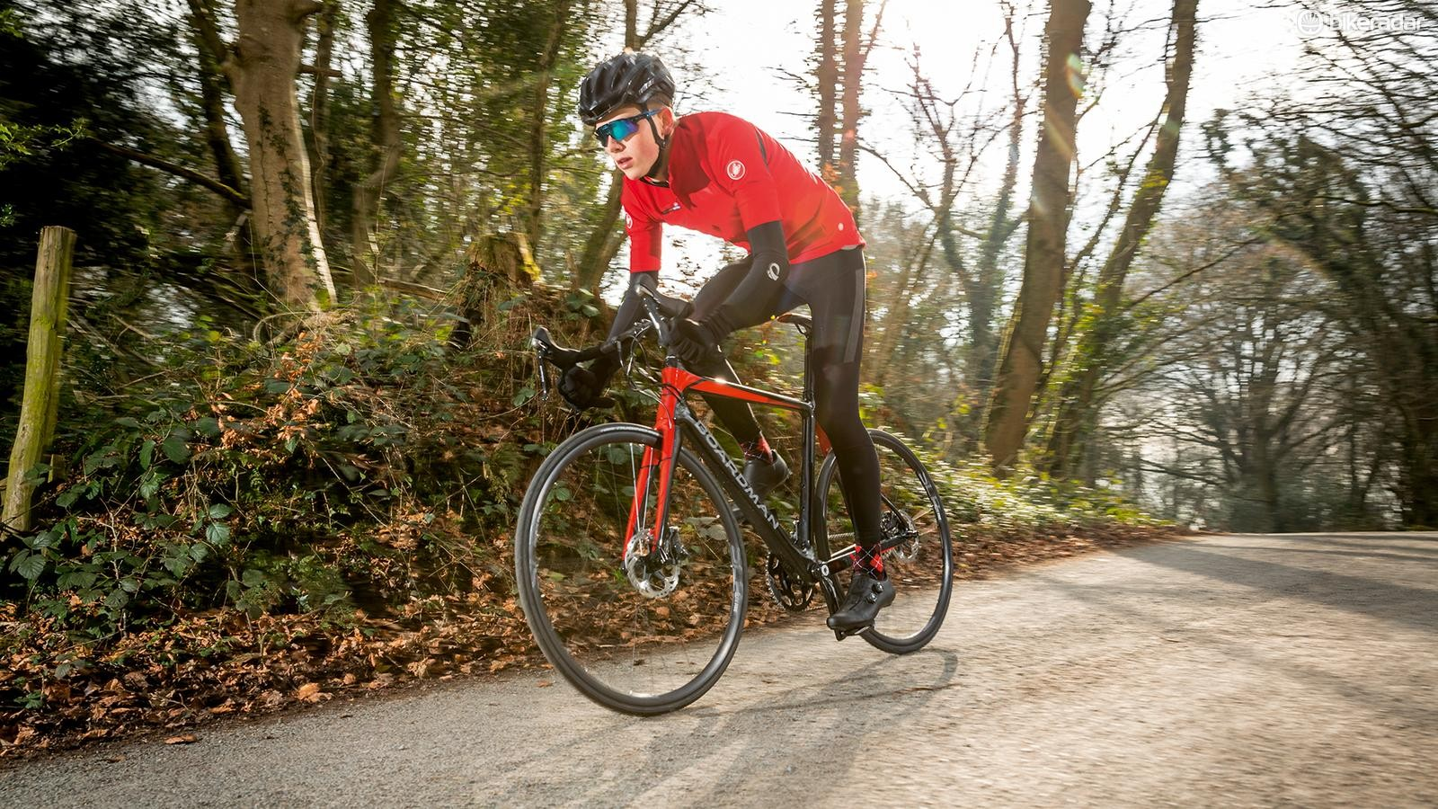 Its low weight puts the Boardman in pole position when it comes to sheer speed