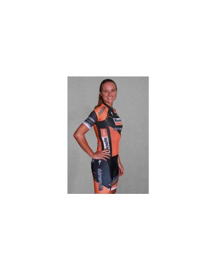 Chantal Blaak will not wear the new jersey for at least six months as she will be in the kit of national champion