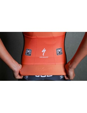 The back of the Boels Dolmans jersey