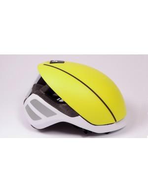 The Bolle Messenger Premium Hi-Vis helmet is designed to help you be seen