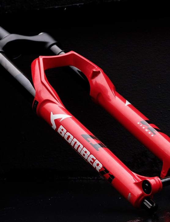 The new Bomber Z1 shares design cues with Marzocchi forks dating back to the nineties