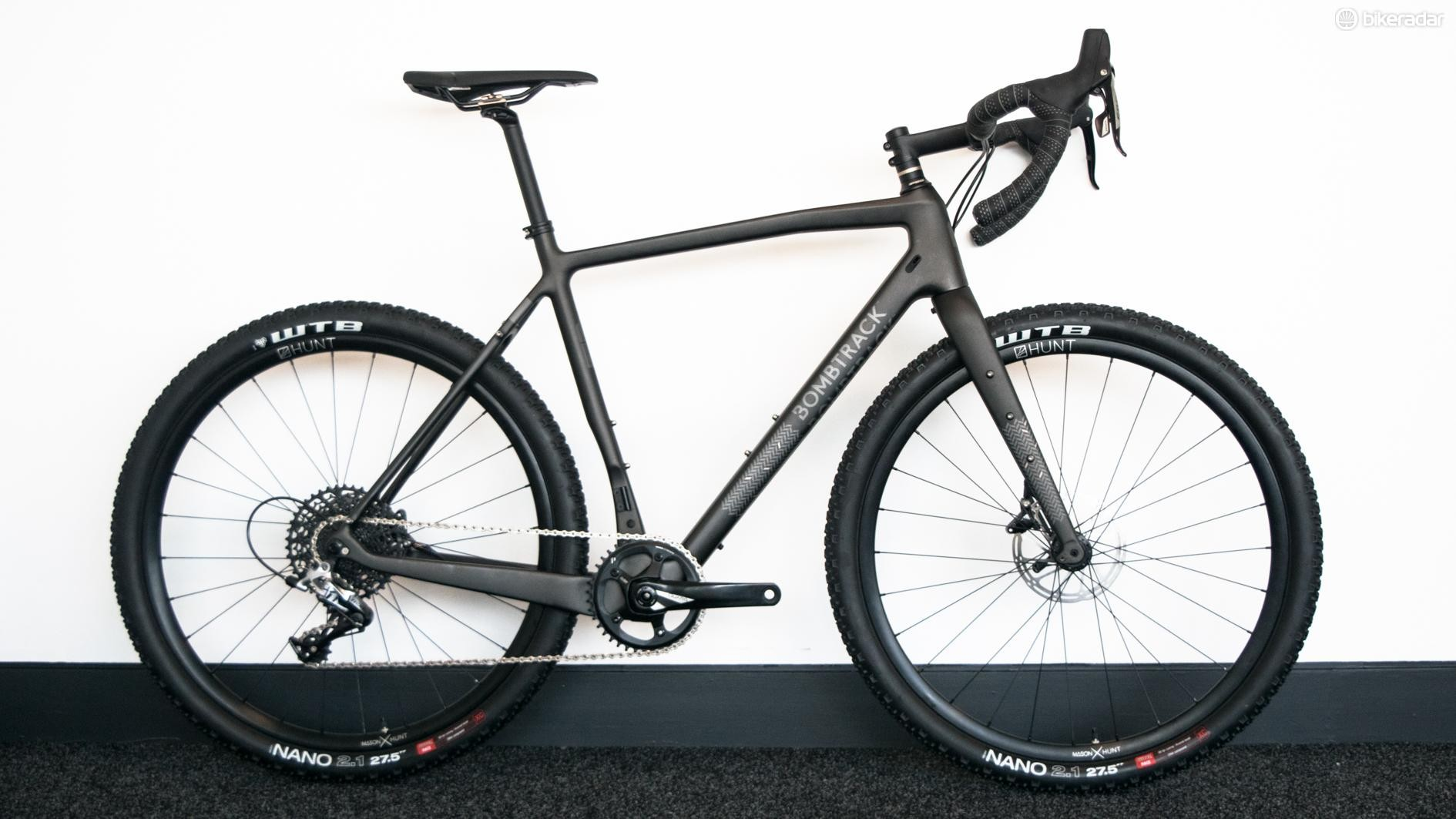 The Bombtrack Hook EXT C is a carbon 650b adventure bike