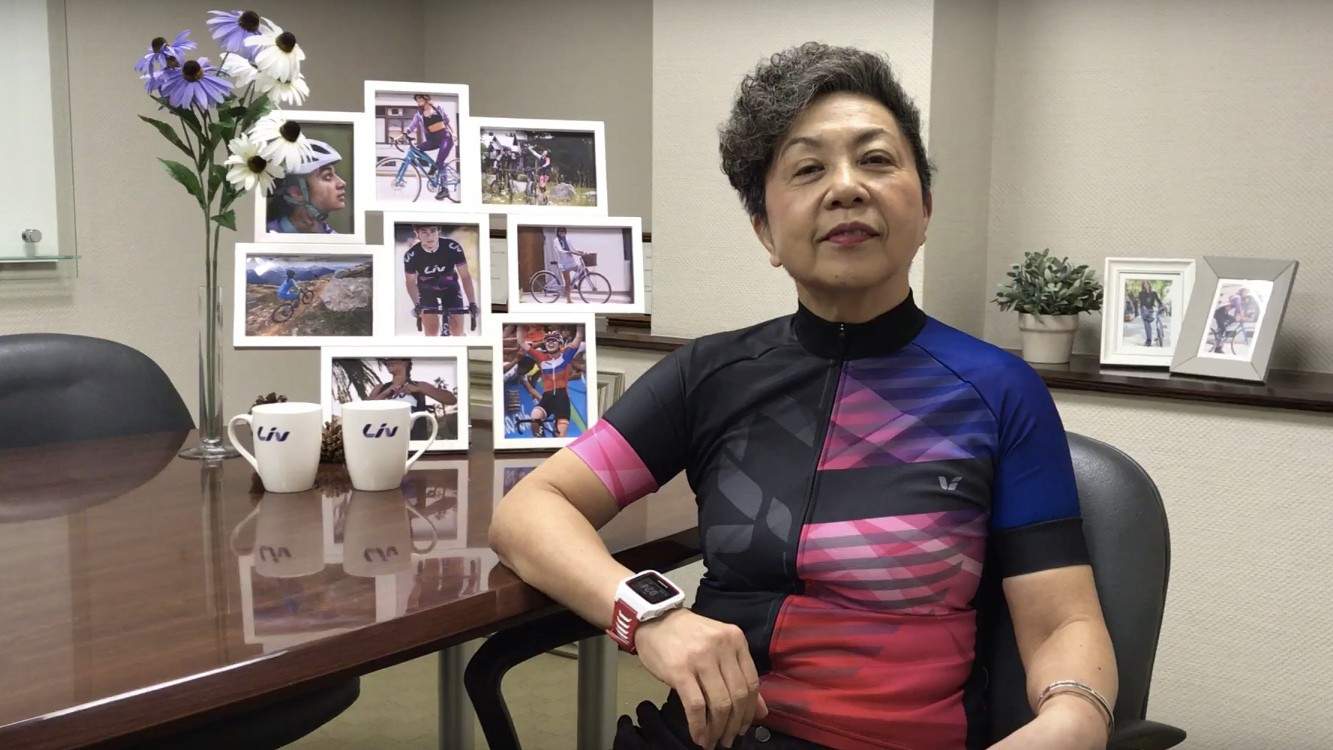 Bonnie Tu, the driving force behind Liv Cycling