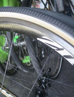 The Bontrager R4 open tubular classics is a new version of it's popular R4 tyres