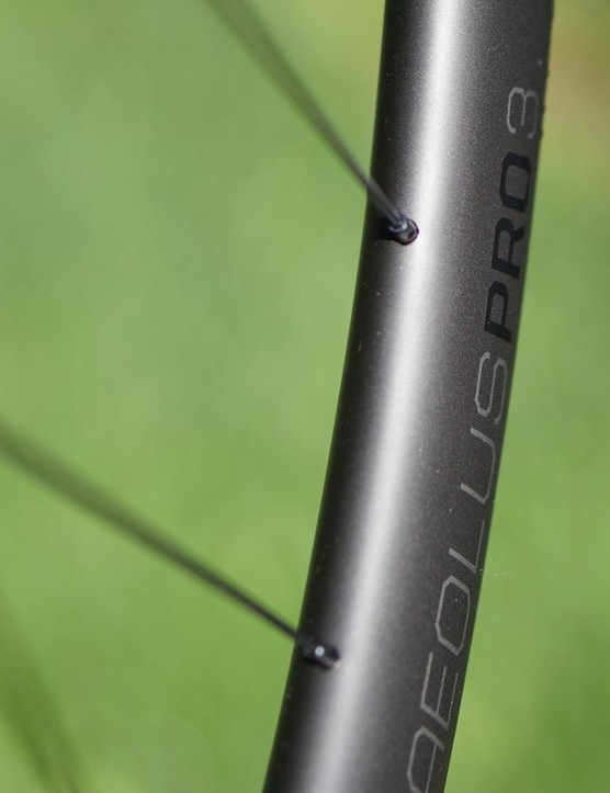Bontrager prides itself on aero design and carbon construction