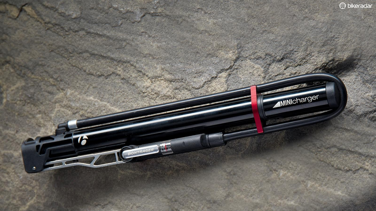 It might not look the sleekest, but Bontrager's Mini Charger seems built to last