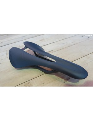 Bontrager's new XXX saddle is handmade in Waterloo and tips the scales at a measly 68g