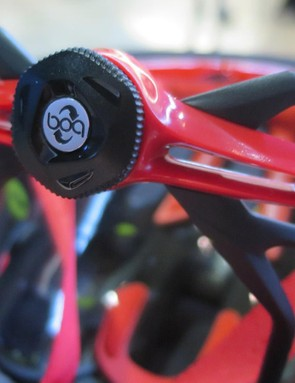Bontrager worked closely with BOA to design a dial ratchet system specifically for helmets