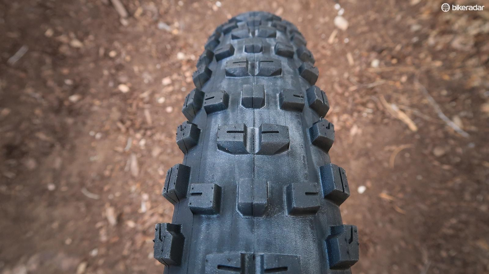 Stay tuned for impressions of this wide (but not fat) trail tire