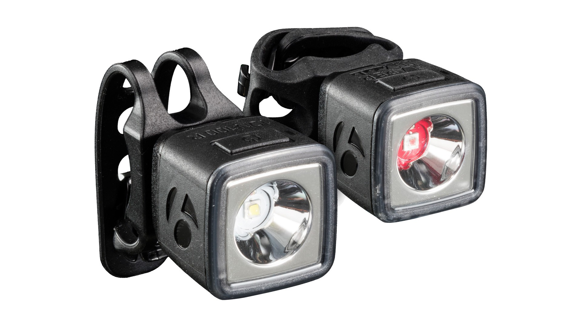 A set of lights designed to be eyecatching in daylight helps keep you visible in the city