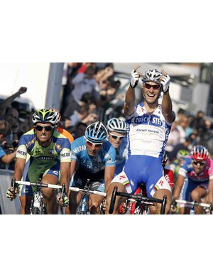 Tom Boonen was the last one to wear the rainbow jersey before Bettini's streak.