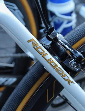 This is the first major outing for the new Roubaix at a pro race