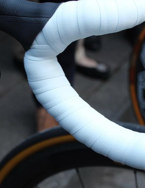 Thick tape for Boonen at Flanders