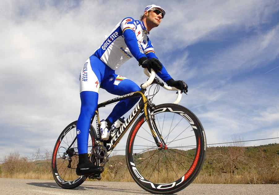 Tom Boonen's Team Quick Step will race on Roval wheels in 2008.
