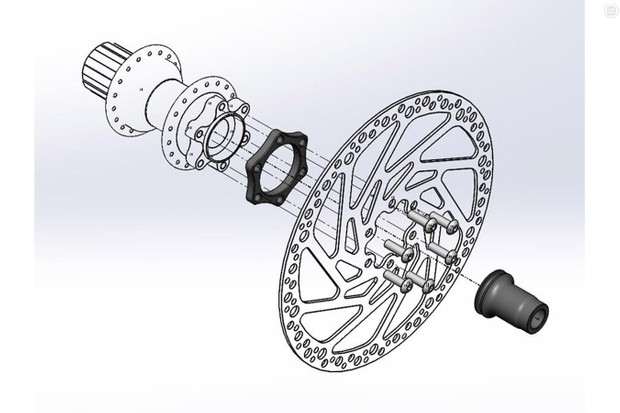 The Wolf Tooth Boostinator kits allow riders to use non-boost hubs in frame and forks with the new wider axle spacing