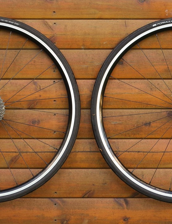 BORG's Borg22 is an all-rounder alloy wheelset that's tubeless-ready out of the box