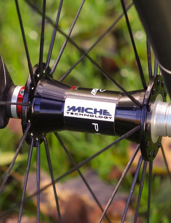 Miche's Primato hubs look very swish