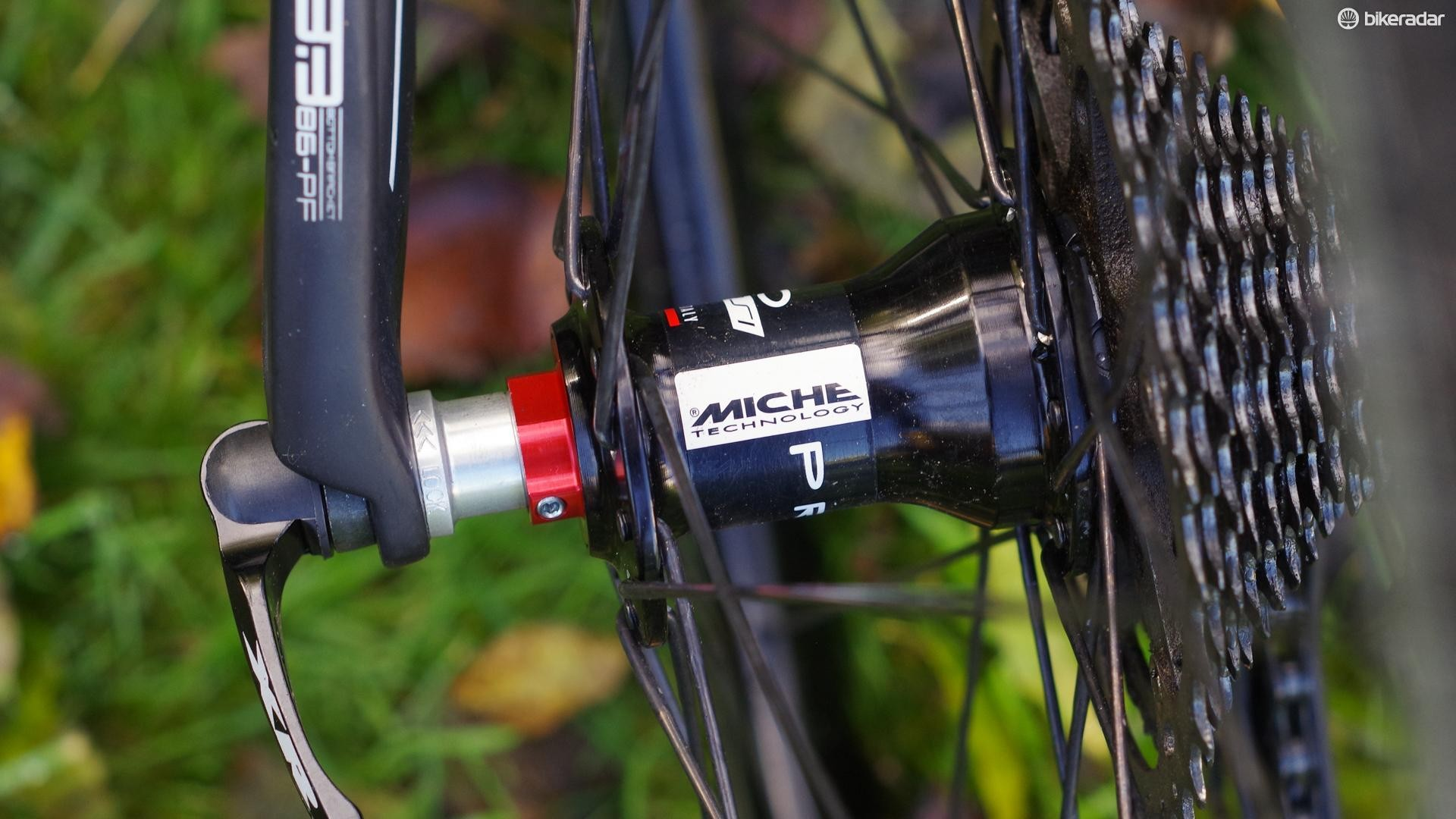 As you'd expect for an Italian brand, the Miche hubs are available with both Shimano/SRAM and Campagnolo freehubs