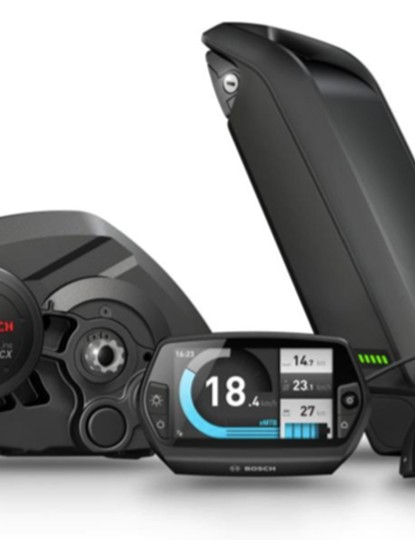 The new e-MTB mode replaces the standard 'Sport' mode