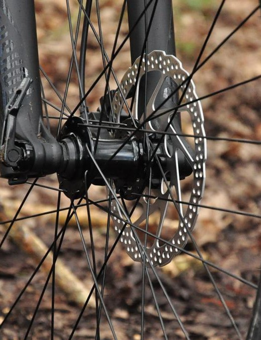 Formula bolt-thru hubs form the core of the wheelset