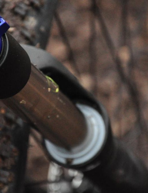The RockShox Sektor forks allow a degree of adjustability for climbing and descending