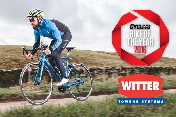 BMC's SLR02 105: winner of the £1,500-£2,000 category in Cycling Plus's Bike of the Year 2016 awards