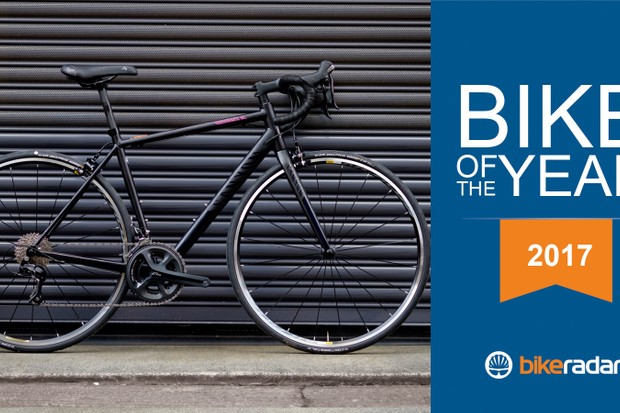 The Canyon Endurace WMN  AL 6.0 has been crowned our women's budget road bike of the year 2017