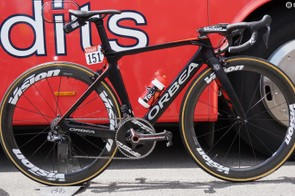 Nacer Bouhanni and his Cofidis teammates are racing the new Orbea Orca Aero at the 2017 Tour de France